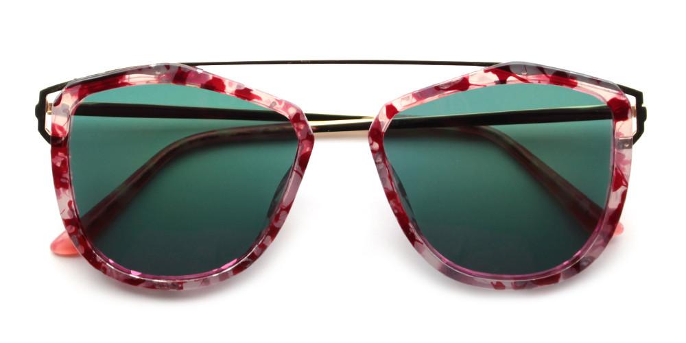 Violet Rx Sunglasses Pink