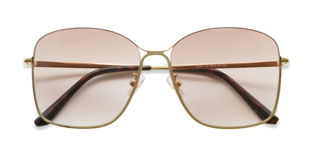 Homell Sunglasses Gold