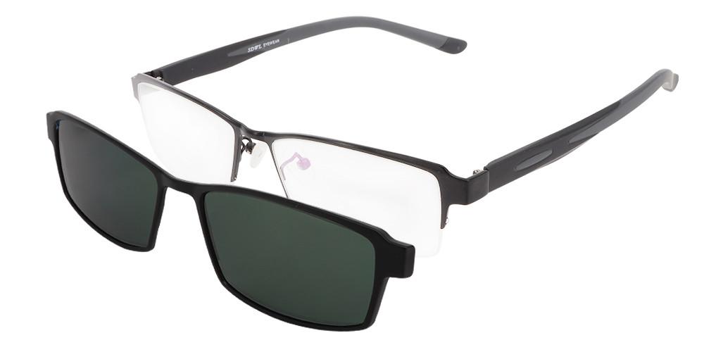 Melvin Clip-On Rx Sunglasses