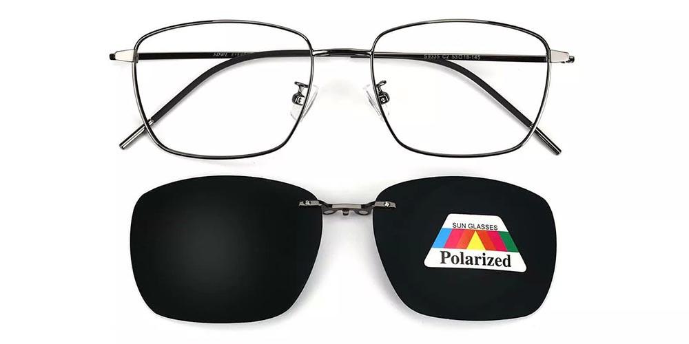 Pearland Clip On Prescription Sunglasses Gun