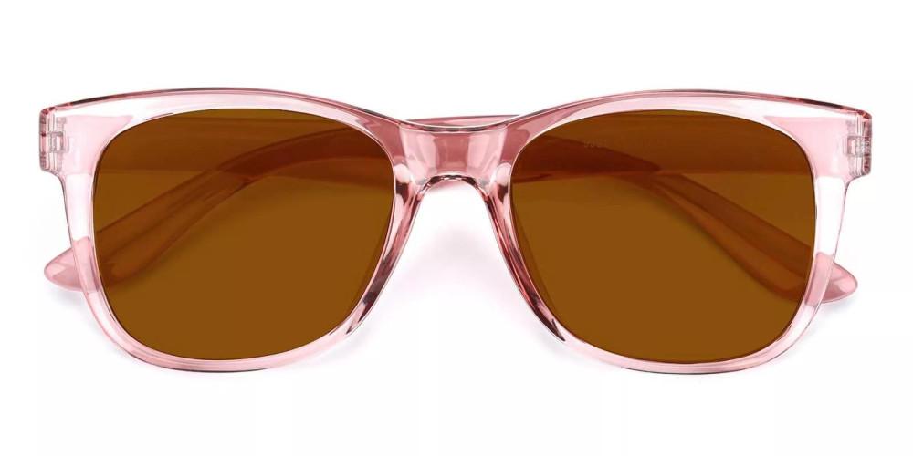 Fairfield Prescription Sunglasses Clear Pink