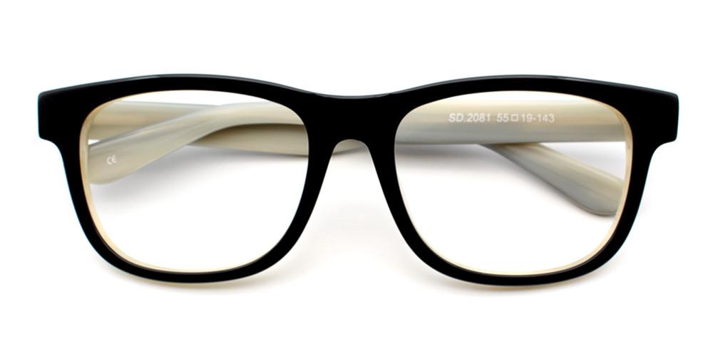 Nassim Eyeglasses White