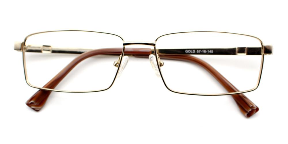 Eliot Titanium Glasses Gold