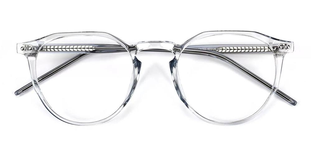 Columbia Prescription Glasses - Super Light TR90 - Clear Grey
