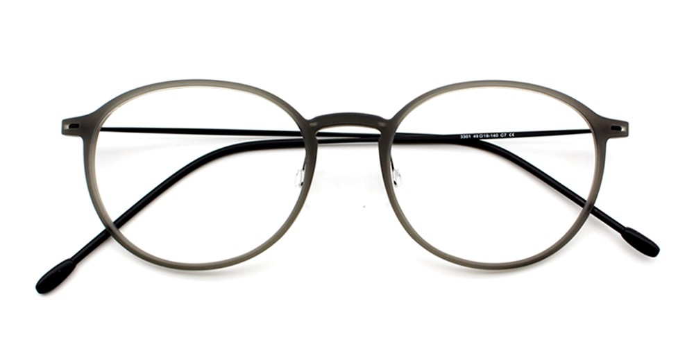 Rania Bendable Glasses Grey