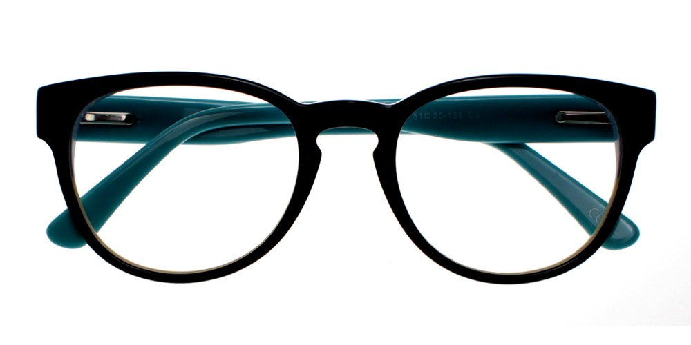 Auberry Eyeglasses Black-Blue