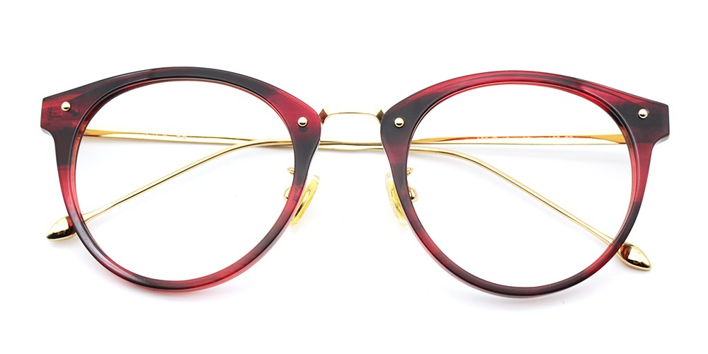 Mila Eyeglasses Red