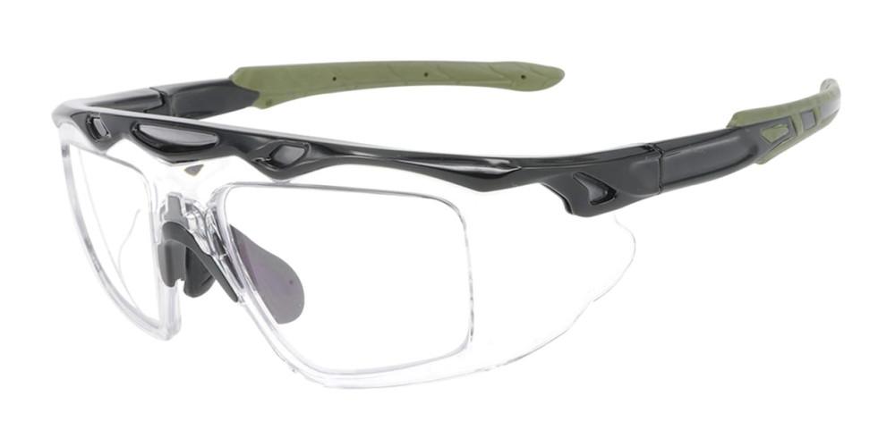 Matrix J161 Prescription Safety Glasses & Goggles - ANSI Z87.1 and CSA Certified