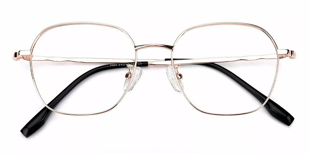 Lakeland Prescription Glasses Gold