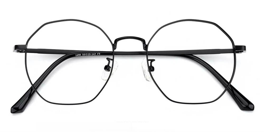 Downey Prescription Glasses Black