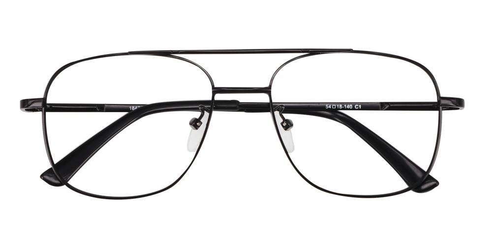 Cortland Eyeglasses Black