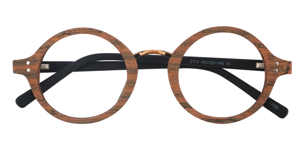 Carter Eyeglasses Wood