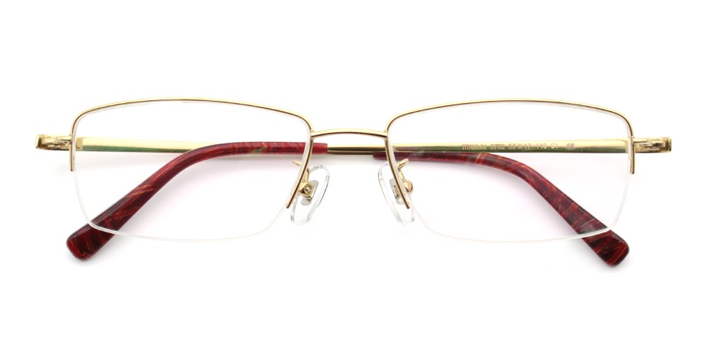 Jackson Titanium Glasses Gold