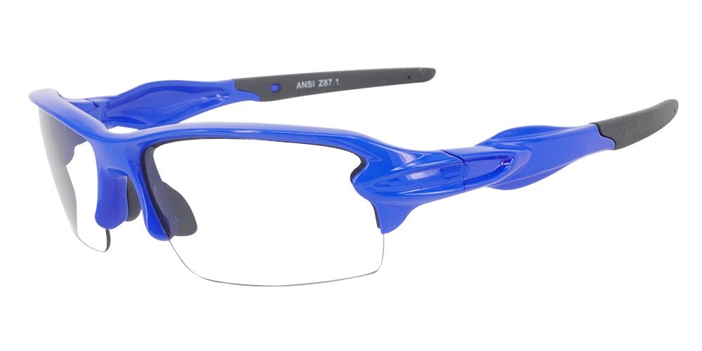 Matrix S713  Blue Prescription Safety Glasses ANSI Z87.1