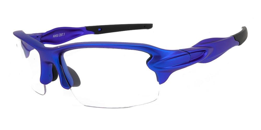 Matrix S713M Protective Eyewear Metallic Blue - ANSI Z87.1 Certified