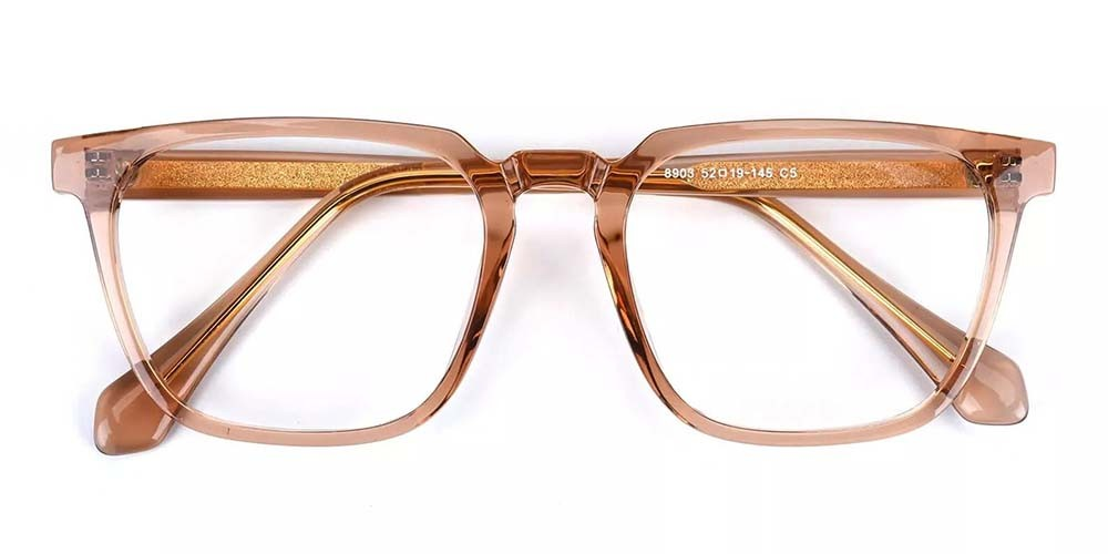 San Mateo Prescription Glasses Clear Gold