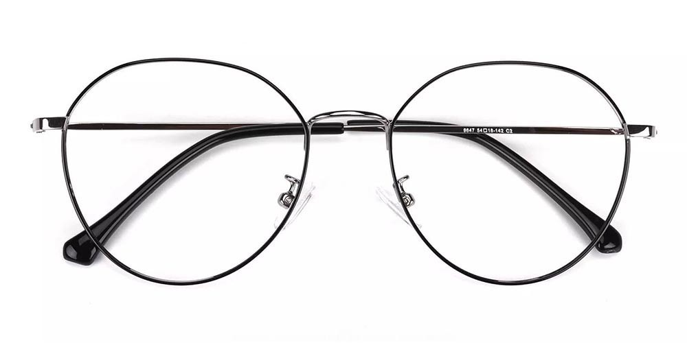 Wildomar Metal Prescription Glasses Silver