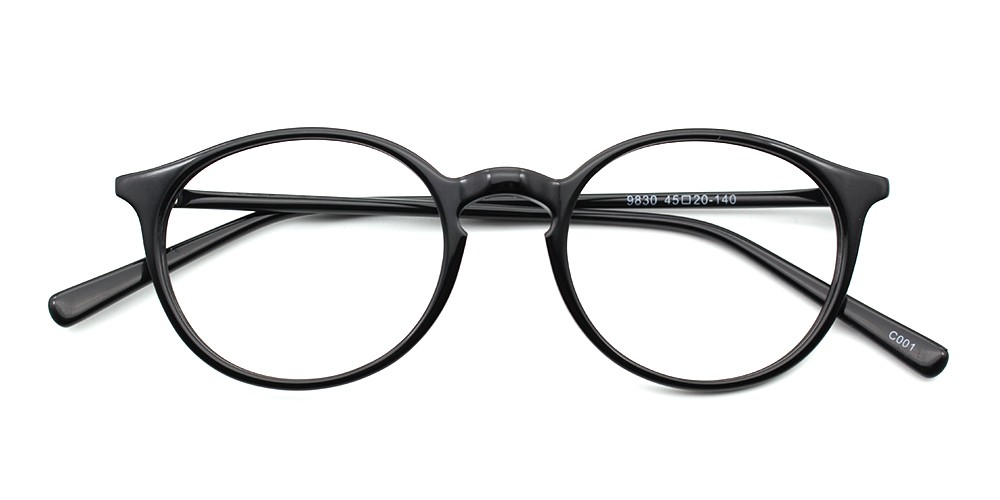 Savannah Eyeglasses Black