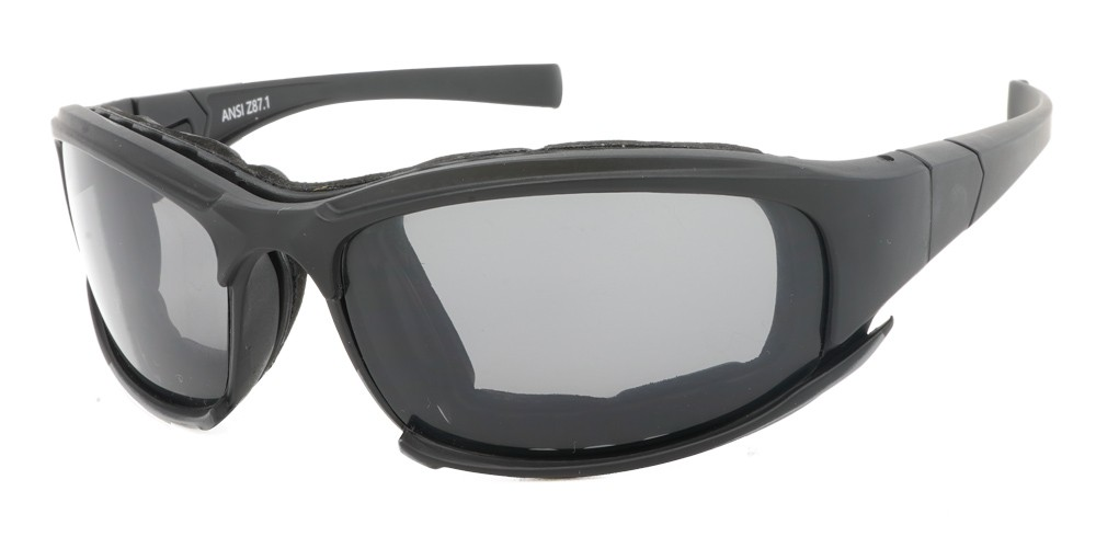 Hollister Prescription Safety Glasses - Ansi Z87.1 Certified with Foam Seal