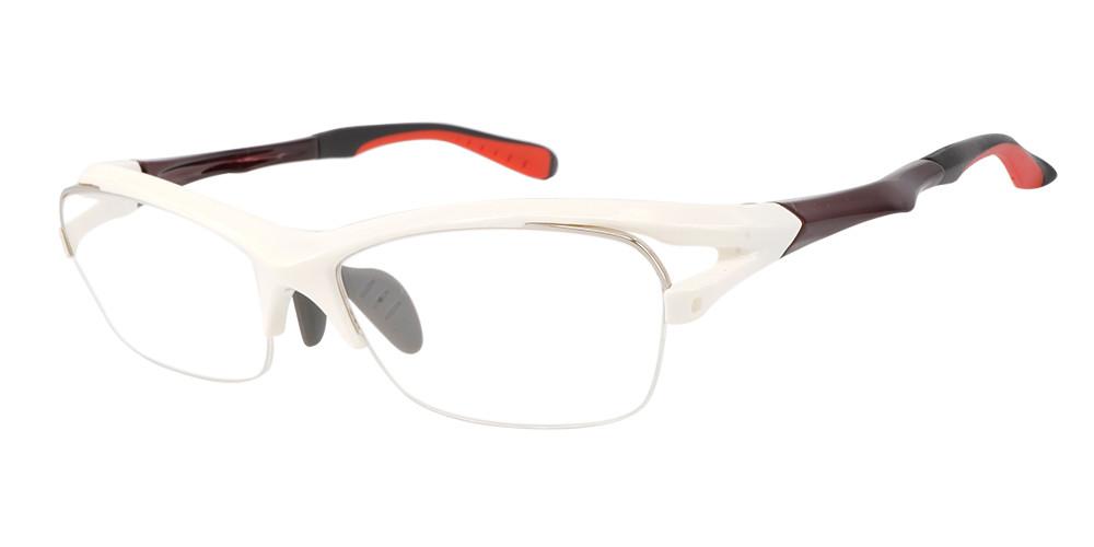 Fusion Sierra Prescription Safety & Sports Glasses White