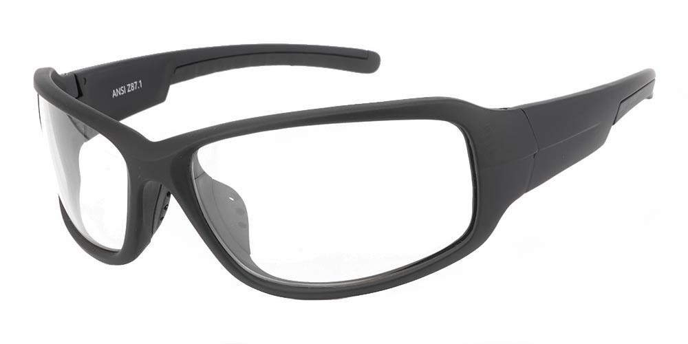Tacoma Prescription Safety Glasses Black -- ANSI Z87.1 Rated