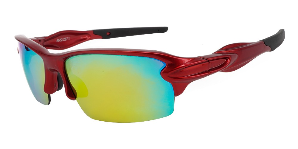 Matrix S713 Prescription Sports Sunglasses - Metallic Red