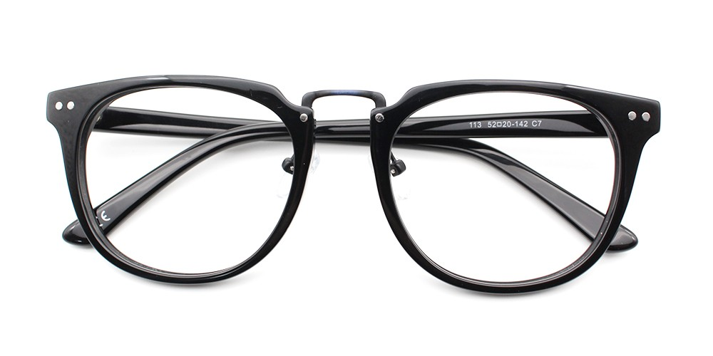 Hailey Eyeglasses Black