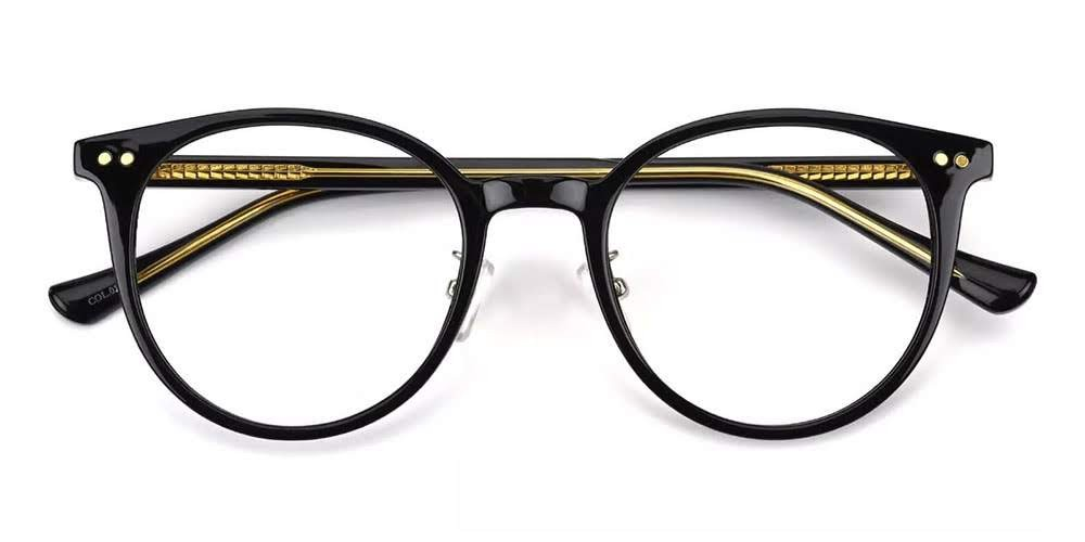 Greeley Prescription Eyeglasses Black