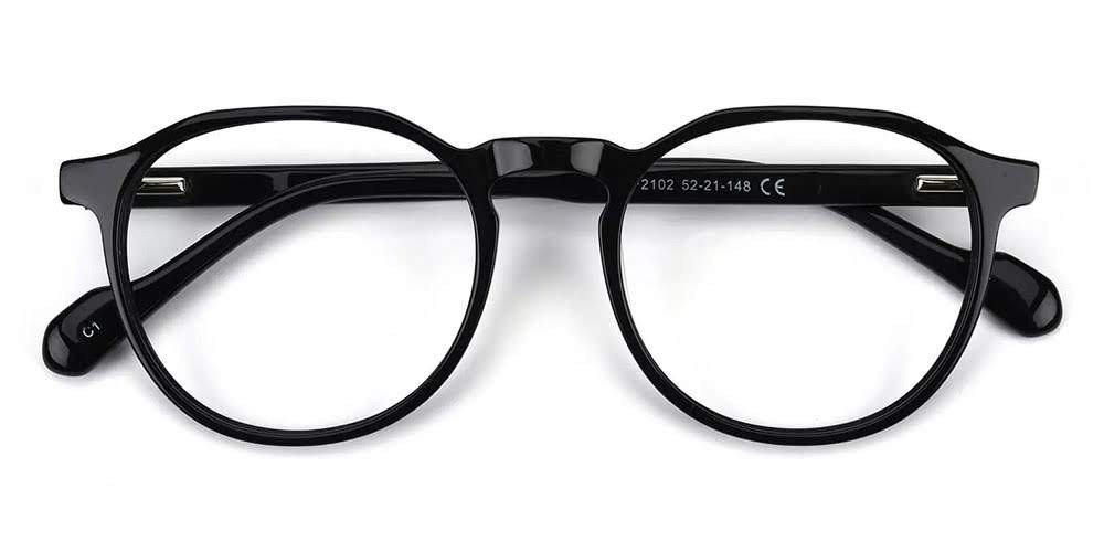 Inglewood Acetate Eyeglasses Black