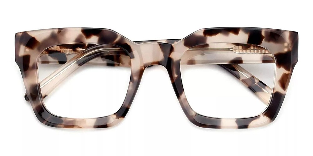 Mobile Prescription Glasses - Handmade Acetate - Demi
