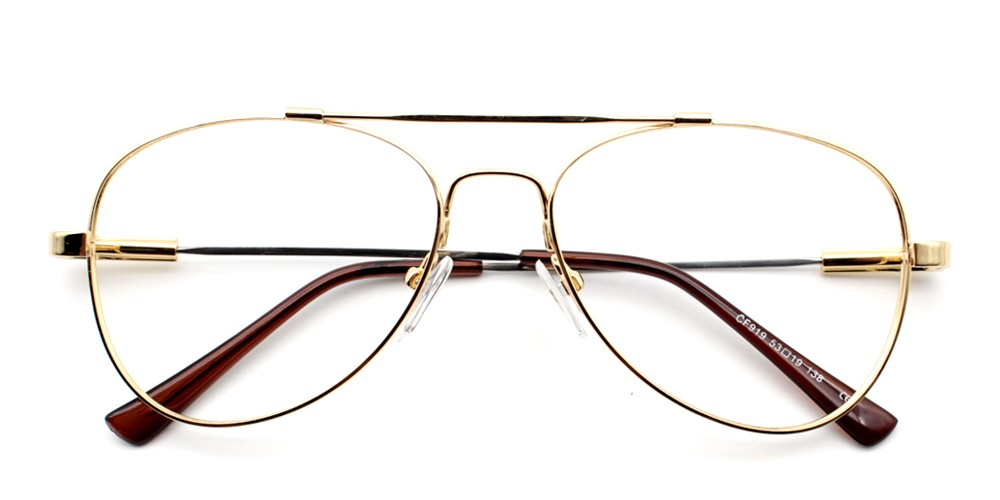 Ismael Eyeglasses Gold