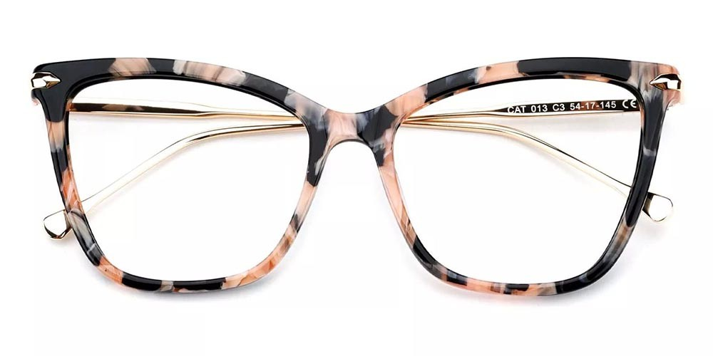 Hampton Cat Eye Prescription Glasses - Handmade Acetate - Tortoise