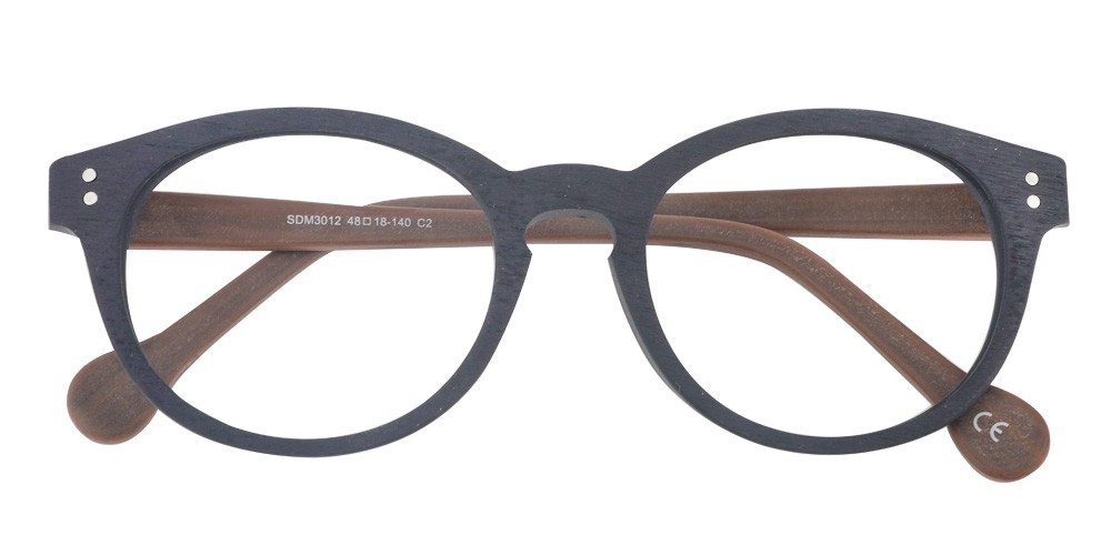 Anthony Wood Eyeglasses B