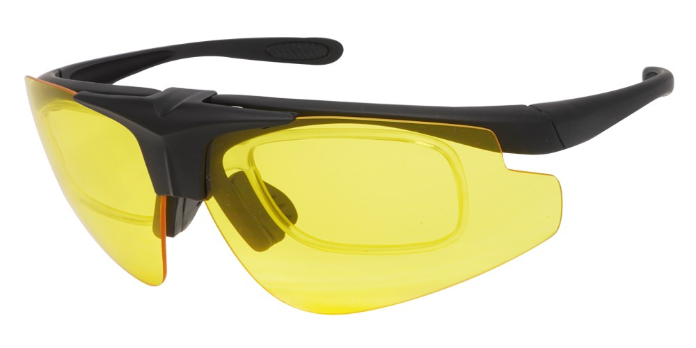 Fusion Meridian Safety Glasses -- Three Interchangeable Lenses