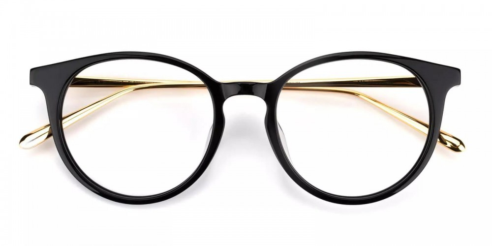 Woodbridge Acetate Eyeglasses Black