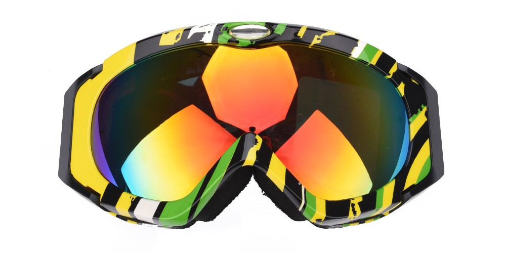 Cole Prescription Snowboard and Ski Goggle Rainbow (Rx Inserts)