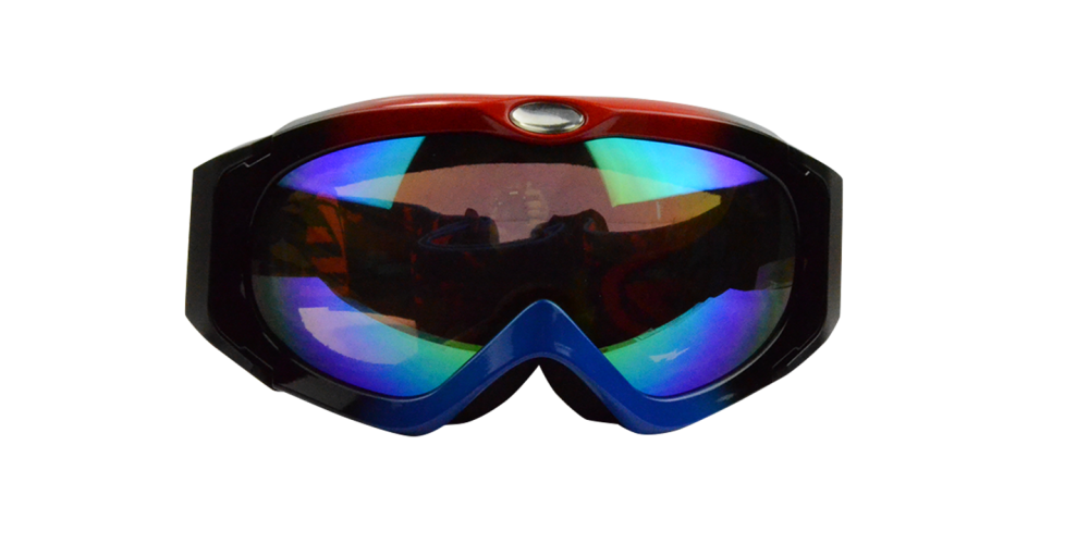 Damien Prescription Snowboard and Ski Goggles  Rainbow (Rx Inserts)