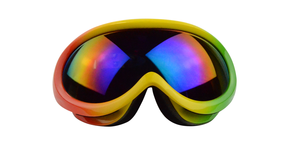 Mateo Prescription  Ski and Snowboard Goggle Rainbow (Rx Inserts)