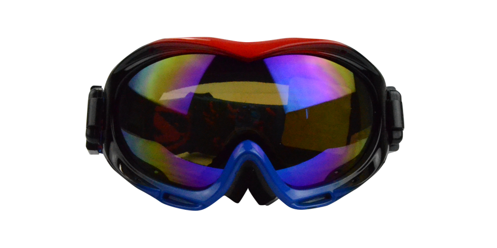 Jeremy Prescription Snowboard and Ski Goggles Blue (Rx Inserts)