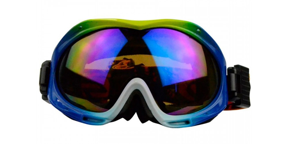 Jeremy Prescription Snowboard and Ski Goggles Yellow (Rx Inserts)