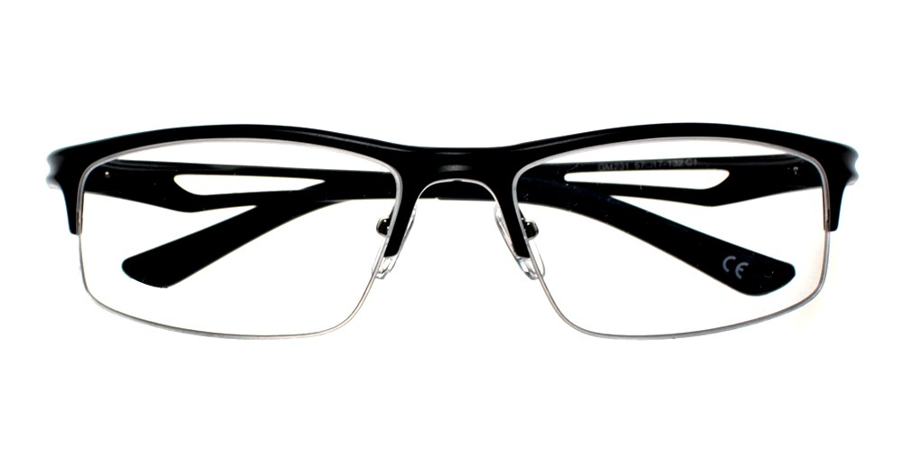 Valencia Eyeglasses Black