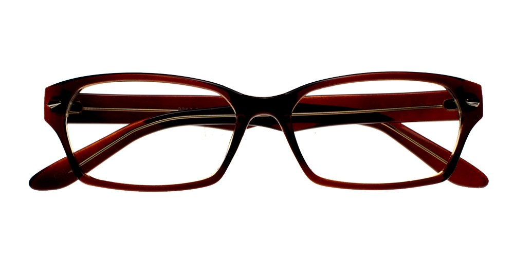 Shafter Eyeglasses Brown