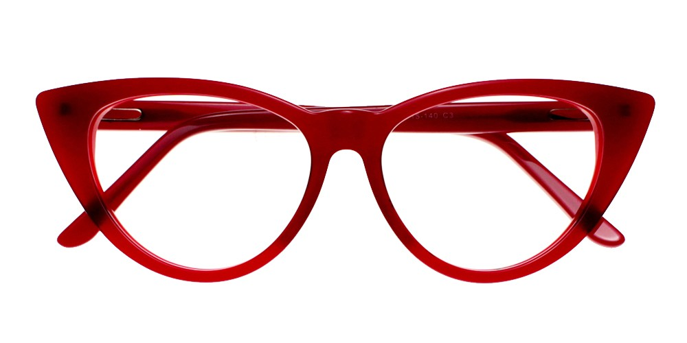 Catalina Eyeglasses Red