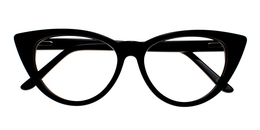 Catalina Eyeglasses Black