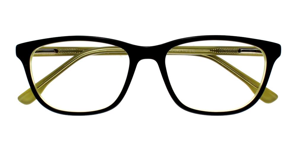 Escondido Eyeglasses BlackYellow