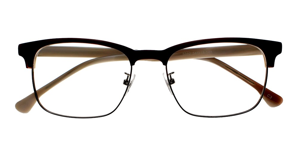 Groveland Eyeglasses BlackWhite