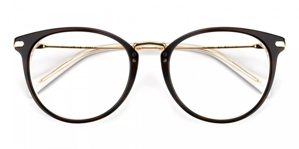 Clinton Acetate Eyeglasses Black