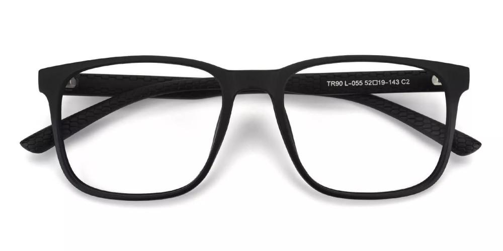 Renton Light Weight Eyeglasses Black