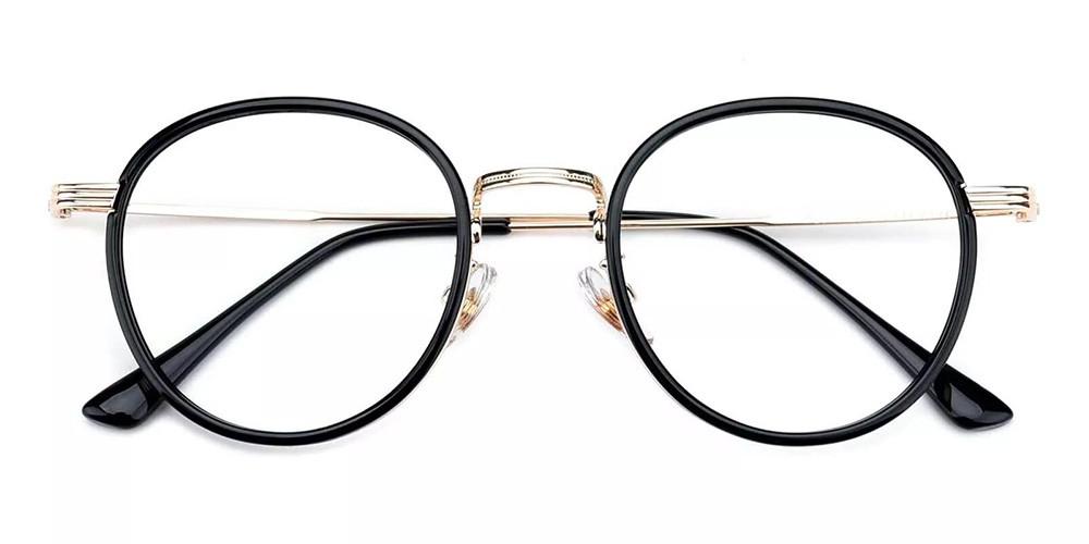 Macon Cheap Prescription Glasses Black