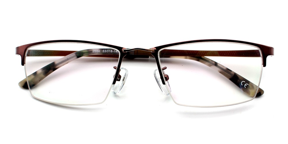 Walid Eyeglasses Brown